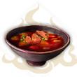 香辣红韶肉汤