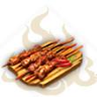 蒜香肉串儿