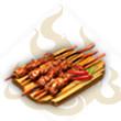 香辣肉串儿