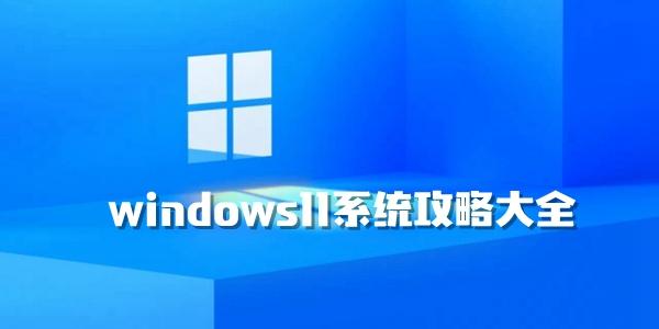 windows11系统攻略大全