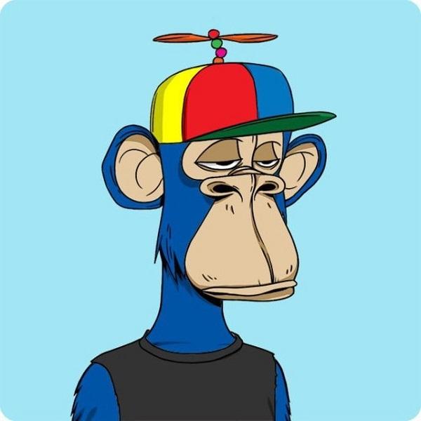 库里18万同款猴子头像